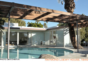 Albert Frey's Loewy House in Palm Springs, CA