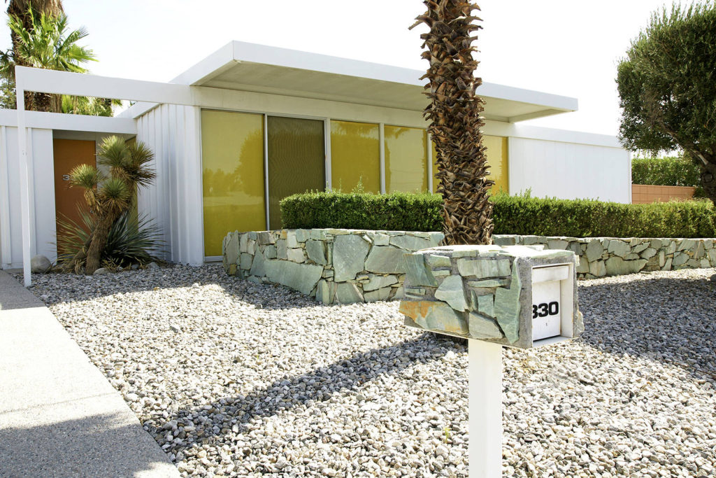 Donald Wexler Steel House in Palm Springs