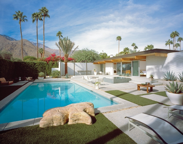 Donald Wexler House in Palm Springs