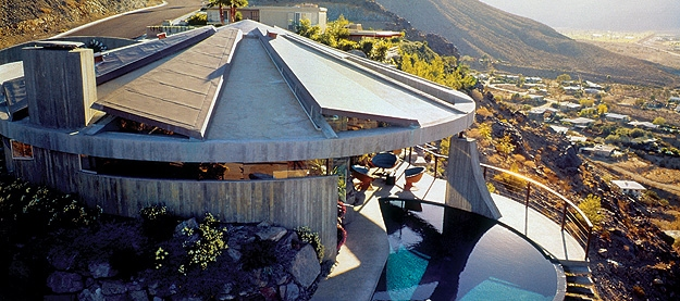 Modern Architect John Lautner's Elrod House in Palm Springs, CA