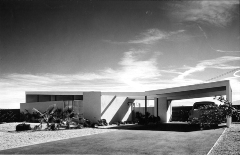 Twin Palms Estates 1957 by Architect William Krisel, Palm Springs