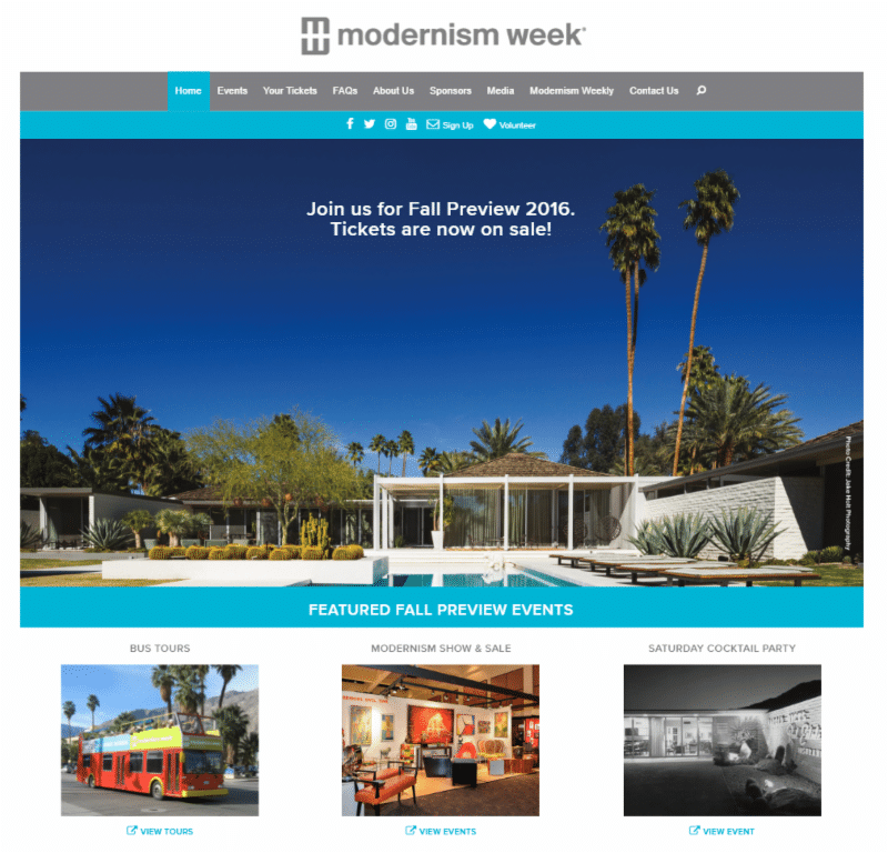 Modernism Week Fall Preview 2016